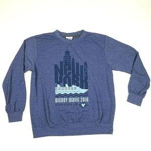 Disney's Magic Cruise Line New York 2016 Sweater